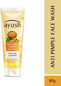 Ayush Anti Pimple Face Wash, 80g
