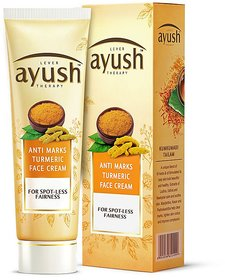 Ayush Anti Marks Turmeric Fairness Face Cream, 50g