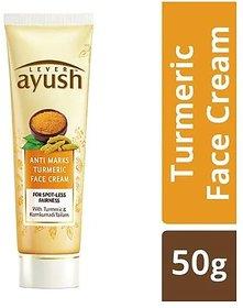 Lever Ayush Anti-Marks Natural ic Turmeric Face Cream, 50 g