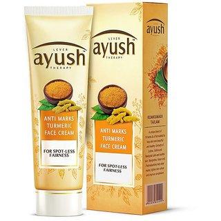 Ayush Anti Marks Turmeric Face Cream, 25g - Pack Of 3