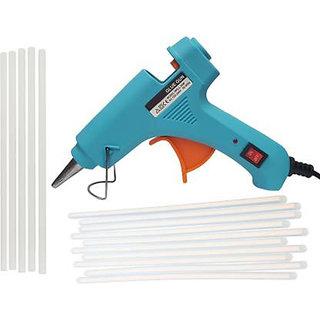 bandook 20W With 08 Glue Sticks Hot Melt Glue Gun Dodger Blue Color