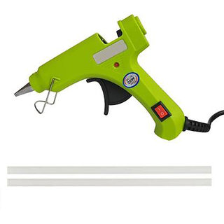 bandook 20W With 02 Glue Sticks Hot Melt Glue Gun Light Green Color