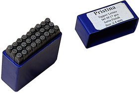 Scorpion Pristina Hardened Steel Alphabet Punch Set, Size2.4mm (Carbon Steel)