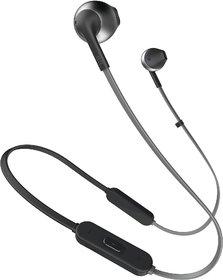 JBL T205BT Bluetooth Headset  (Black, In the Ear)