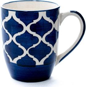 CM1002 CEREMIC Glossy  Colour Milk / Coffee mug (320 ml, Pack of 2)