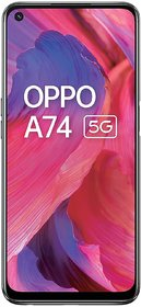 OPPO A74 5G (Fluid Black, 6GB RAM, 128GB Storage)