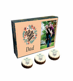 Get Well Soon Chocolate Box With