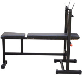3 in 1 Bench Multipurpose Fitness INCLINE + DECLINE + FLAT - Home Gym Bench
