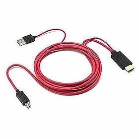Crystal Digital  Premium Quality MHL Kit Red (1M)