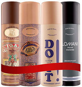 LOMANI DEO COMBO OF 4(FLAVOURS MAY VARY)