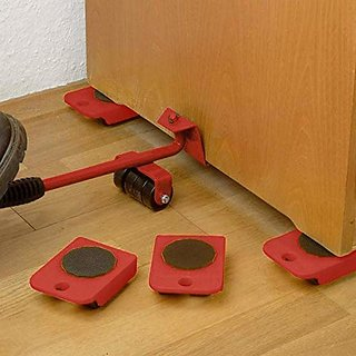 Furniture Shifting Tool/Heavy Furniture Appliance Lifter and Mover Tool Set Heavy Duty Steel Mover Tool By Shop Stoppers
