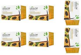 Oxyglow Papaya Bleach  50gm Pack of-6