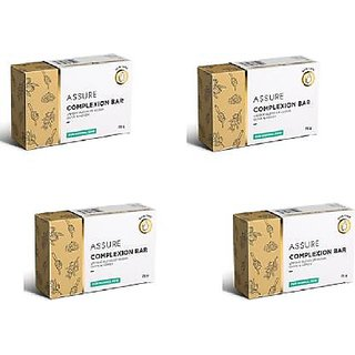 New Assure Complexion Bar Pack Of 4, (75 gm )