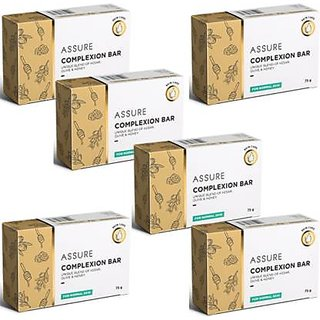 New Assure Complexion Bar Pack Of 6(75 gm )