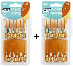 Tepe EasyPick Pack Of 2 XS/S Orange (36Pcs) (With One Free Travel Pouch)
