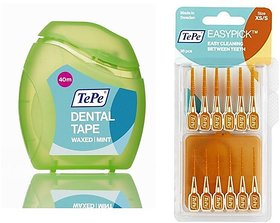 Tepe Interdental kitFlossTeeth Between KitOral Hygiene (With One Free Travel Pouch)
