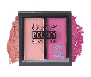 Candy Shop blusher BOUNCY Silky Touch DESSERT ROSE