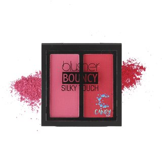 Candy Shop blusher BOUNCY Silky Touch SCARLET RED