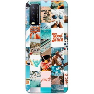 Digimate High Quality (Multicolor, Flexible, Silicon) Back Case Cover For Vivo Y20i
