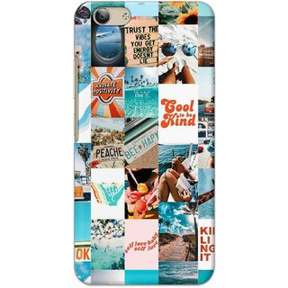 Digimate High Quality (Multicolor, Flexible, Silicon) Back Case Cover For Vivo Y53
