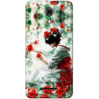 Digimate High Quality (Multicolor, Flexible, Silicon) Back Case Cover For Yureka Black