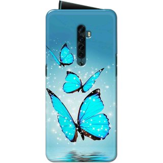 Digimate High Quality (Multicolor, Flexible, Silicon) Back Case Cover For Oppo Reno 2
