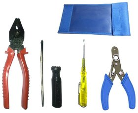 Easygokart General Domestic Hand Tool Kit With Pouch