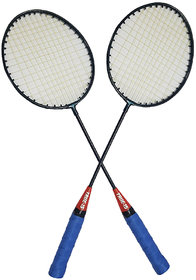 Scorpion Set of Badminton Rackets, Pair of Rackets, Lightweight  Sturdy, for Professional  Beginner Players