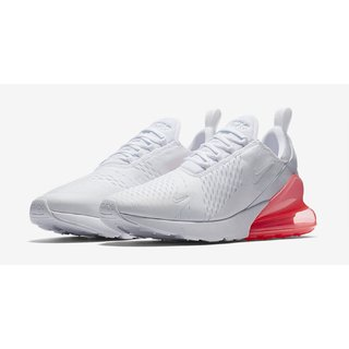 Nike Airmix 270 White Red Woman's Sport Running Shoes