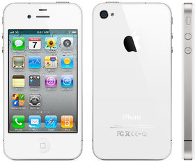 Refurbished Iphone 4S 16Gb Smartphone With 3.5 Inches Display Resolution 640 X 960 Pixels White