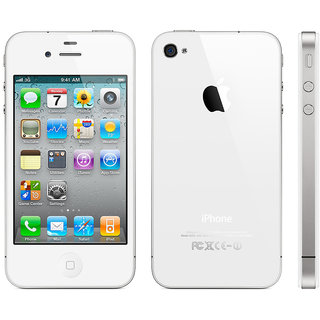 Refurbished Iphone 4S 16Gb 3.5 Inches Display Resolution 640 X 960 Pixels Smartphone (White)