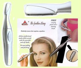 Best Bi Feather King Eye Brow Trimmer Safe And Easy Hair Remover Rf 818 Trimmer For Women