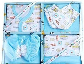 AFFIX  ENTERPRISES New Born Baby Gift Set (Blue)