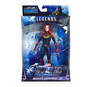 VARNA Special Edition Captain Marvel Action Figure 6 Inches Toy