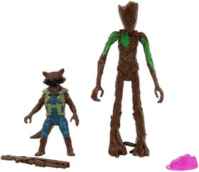 VARNA Special Edition Groot  Rocket Racoon Action Figure 6 Inches Toy