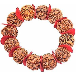 Jewelswonder Stylish Wood Bracelet For Unisex (Lab Certified)