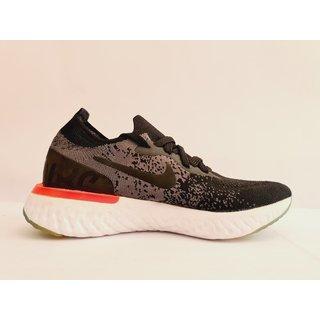 Nike Epic React Flyknit Woman's Black Running Shoes