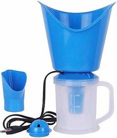 Diveshtoyshop 3 in 1 Steam Vaporizer Nose Steamer, Cough Steamer,  Facial Steamer Vaporizer (White,Blue)