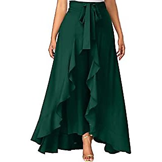 Rama Green Pant With Out Fit Skirt