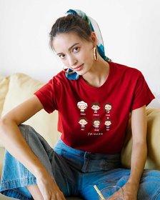 Vivient Friends Boyfriend T-Shirts (FRL)