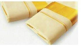 MCR - Gold Jari Border Cream Dhoti - 2.00Mtr