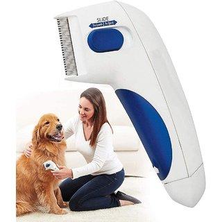 Alleyon Enterprise  Flea Comb for Dogs, Cat Comb, Pet Comb for Ticks and Flea Electronic Lice Flea Remover Flea