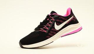 Women Black Pink Sports Running Shoes