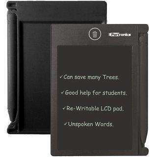 Portronics Ruffpad 4.4 POR-059 4.4 Inch. Re-Writable LCD Pad (Black)
