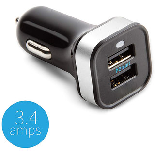 Car Charger Adapter for Mobile And Others device 3.1A Dual Port Charger Adapter