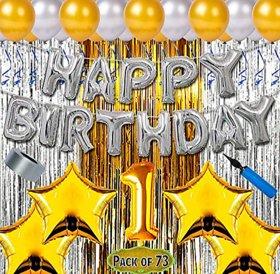 Blooms Mall Premium 73pcs Combo for 1st Birthday .BM/R20/708