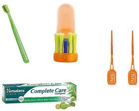 Dental Braces/Ortho Kit (With Free Travel Pouch And Mouth Mirror)