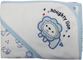 Mom's Pet Premium Hooded Soft Wrapping Sheet for Baby