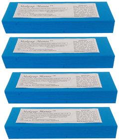 Makeup Mania 280 Pcs Large Waxing Strips, Non-Woven Hair Removal Plain Waxing Strips - Blue 280 Pcs