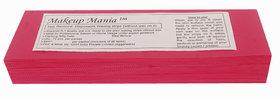 Makeup Mania 070 Pcs Large Waxing Strips, Non-Woven Hair Removal Plain Waxing Strips - Magenta 70 Pcs